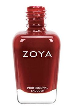 "<p>""I'm a big fan of Zoya's polishes (love that they're Big 5 free, and the brush is really easy to use) and I expect this dark red shade will be on my toes all through the winter.""-<a href=""http://www.elle.com/editors/kate-winick"" target=""_blank"">Kate Winick, social media editor<br /><br /></a>$9"