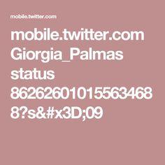 mobile.twitter.com Giorgia_Palmas status 862626010155634688?s=09