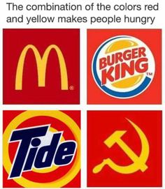 "I showed this to my boyfriend, and he laughed and said, ""Communism!"" I looked at it again and said, ""I didn't even notice communism! I was laughing at the Tide one!"""