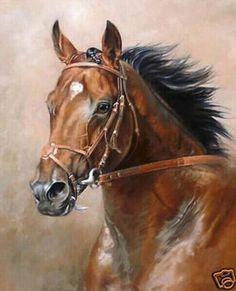 Resultado de imagen para horse oil on canvas