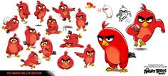Today I am posting a few pages of designs I did on 'The Angry Birds Movie'. If you want to see more of the art I did for this movie...