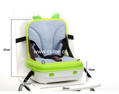 2016 New Design Fashion Folding Parent Child Baby Chair Backpack Canvas Adult Mummy Diaper Bag