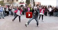 Young People Spread the Word of God by Dancing - Love it - Worship Video: Love Flas Mob Dancers!