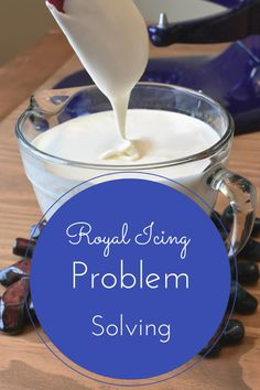 Royal Icing is tricky to get right. Here are some common problems and how to solve them. My recipe is included with step by step instructions.