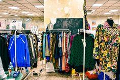 Exhibiting at Vintage Fabrik Vintage Market, Wardrobe Rack, Vintage Marketplace