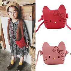 Buy Kids' Kitty Shoulder Bag to add some cuteness to your little girl's outfit. Find more fashion accessories at Apollo Box! Hanging Closet Organizer, Apollo Box, Storage Stool, Cute Slippers, Small Cat, Little Girl Outfits, Polar Fleece, More Cute, Sleeping Bag
