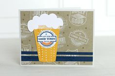 Good Times Card by Erin Lincoln for Papertrey Ink (May 2015)