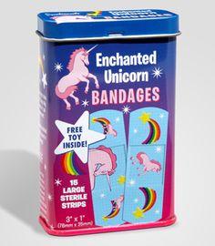 this is cute, unicorn bandages, i feel fairytale