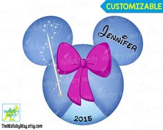 Golf Mickey Mouse Ears Printable Iron On Transfer or Use as Clip ...