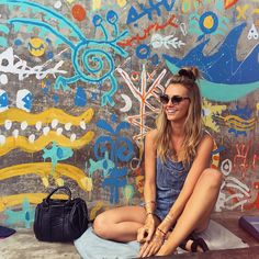 Just devoured the most delicious breakfast at if your in Bali you… Brooke Hogan, Wall Drawing, Wild Child, Material Girls, Street Art, Artsy, In This Moment, My Style, Summer