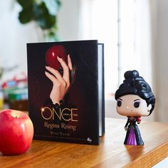 "ohmydisney: ""Cannot wait to pick up a copy of @disneybooks' Once Upon a Time: Regina Rising. 👑🍎😍 #OnceUponATime"""