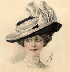 Шляпный бутик...1911 год. Комментарии : LiveInternet - Российский Сервис Онлайн-Дневников