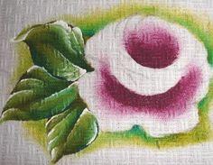 como pintar rosas em tecido para iniciantes - Pesquisa Google