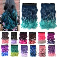Material: Synthetic Hair - Item Type: Hair Extension - Hair ...
