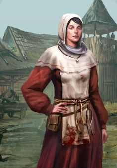 f Villager butcher walled village The Witcher 3: Gwent Card Art - Album on Imgur