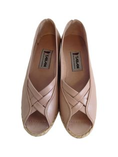 Genuine Leather Handmade Shoes for woman CLASSIC  Open Toe