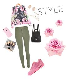 """""""Untitled #148"""" by q-griffin on Polyvore featuring rag & bone, River Island, Kenneth Jay Lane and NIKE"""