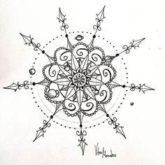 Image result for mandala sun tattoo