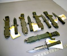 These bayonets are great for camping!