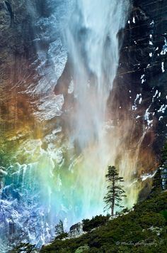 Bridal Fall at Yosemite