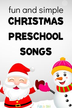 Christmas Preschool Songs the Kids are Going to Love