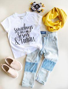 Jesus and Football - Baby Girl Shirts - Toddler Shirt -  Jesus Shirt - Toddler Clothes - Toddler Girl Shirt - Baby Girl Clothes - Christian by MaeRyanCo on Etsy https://www.etsy.com/listing/274529904/jesus-and-football-baby-girl-shirts