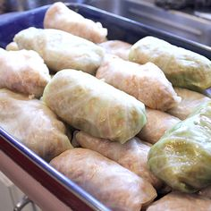 Cabbage Rolls - A Family Recipe - Cabbage rolls are a classic dish for many Eastern European countries. This recipe is the version from my Ukrainian family. Made with ground beef and ground pork in the rice stuffing. Cabbage Rolls Recipe, Cabbage Recipes, Ukrainian Recipes, Ukrainian Food, Ukrainian Dress, Romanian Recipes, Hungarian Recipes, Ukrainian Cabbage Rolls, Slow Cooker Recipes
