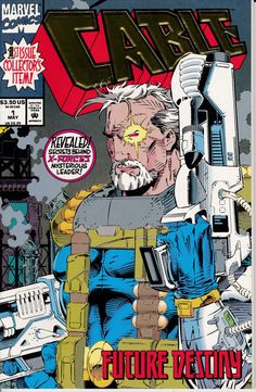 Cable 1 May 1993 Issue  Marvel Comics  Grade NM by ViewObscura