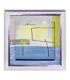 Cuadro Abstracto Azul II - La Casa de los Cuadros - Tienda online