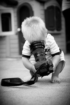 Kid and a camera