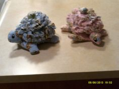 These TatteredRag turtles are handmade prewashed by cleancritters, $15.00