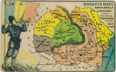History Of Romania, Romania Map, Danube River, Alternate History, Old Maps, Historical Maps, Cartography, History Facts, Planer