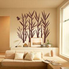 Naklejka welurowa - Bambus | Decorative sticker - Bamboo | 41,60 PLN #decorative #sticker #bamboo #wall_idea #home_interior #interior_decor #naklejka #naklejka_dekoracyjna #naklejka_welurowa #dekoracja_ściany #dekoracja_wnętrz #wystrój_wnętrz