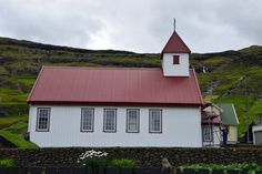 Faroe Islands, Denmark, Shed, Outdoor Structures, Cabin, House Styles, Home Decor, Homemade Home Decor, Backyard Sheds
