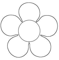 sjabloon bloem