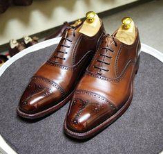 Scotch Grain 明日履くつもりで簡単にお手入れ #scotchgrain #shoes #shoecare #スコッチグレイン #紳士靴 #革靴 #靴磨き #シューケア