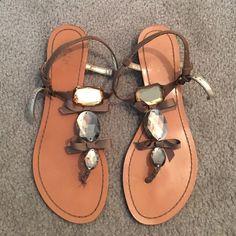 Summer sandals! Worn a few times. Still in good condition. Perfect summer sandals! Wild Pair Shoes Sandals