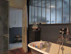 Verrière salle de bain - bathroom glass wall