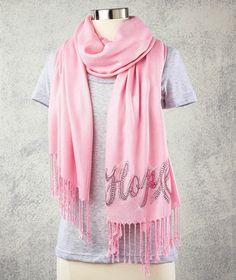 Pink Embellished #Pashminas for Hope#BCA #PinkRibbon