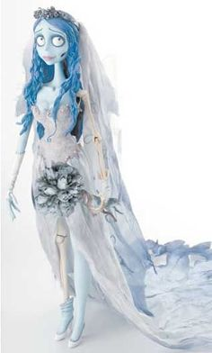 Deadman's Toys - Corpse Bride Collector Dolls Corpse Bride Doll, Corpse Bride Movie, Emily Corpse Bride, Tim Burton Corpse Bride, Halloween Skull, Halloween Costumes, Movie Crafts, Tim Burton Art, Bride Costume