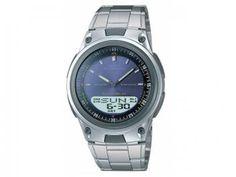 Dia dos Pais...presentes de bom gosto com muita ECONOMIA! Vem!! Relógio Masculino Casio Anadigi - Resistente à Água Mundial AW-80D-2AVDF