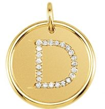 The Letter D in diamonds :)