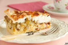 Carolines blog: Rabarbertaart met meringue