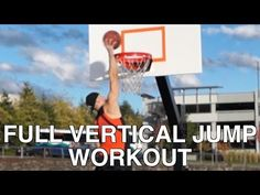 """Full """"Vertical Jump"""" Training - How to INSTANTLY """"Jump Higher"""" - YouTube"""