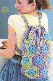 Tina's handicraft : girls summer bag