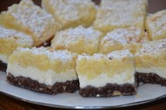 svedsky kolac Sweet Desserts, Sweet Recipes, Dessert Recipes, Mini Cheesecakes, Homemade Cakes, Yummy Treats, Food And Drink, Cooking Recipes, Favorite Recipes