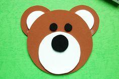Circles Bear   Kids' Crafts   Fun Craft Ideas