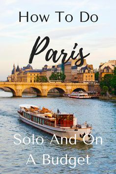 Paris! The City of Light!! it is gorgeous and even though we think of romance when we think of Paris, it's still a fabulous city to explore as a solo travel AND it can be done on a budget. Check out this post to find out more! #travel #france #francetravel #paris #paristravel #budgettravel #parisonabudget #europetravel #europeonabudget #wanderyourway
