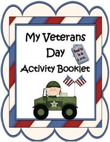 My Veterans Day Activity Booklet! - Engaging Lessons |  | Holiday ActivitiesCurrClick
