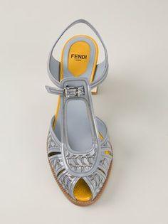 Fendi 'chameleon' Sandals - Jofré - Farfetch.com